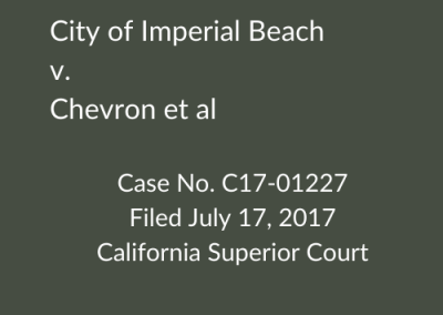 Imperial Beach v. Chevron et al