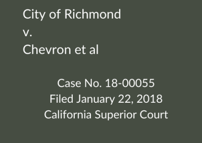 Richmond v. Chevron et al