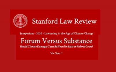 Forum Versus Substance