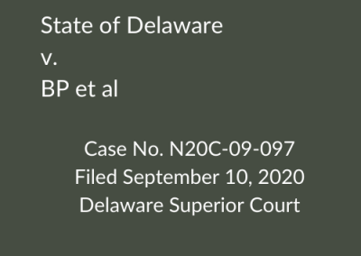 State of Delaware v. BP et al